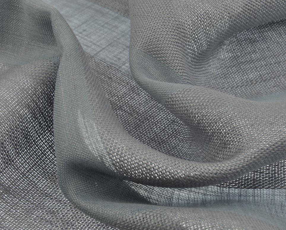 grijze linnen gordijnen